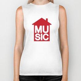 House Music Biker Tank