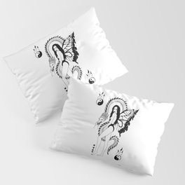 Dragon Girl Pillow Sham