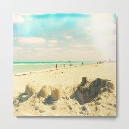 Miami beach Metal Print