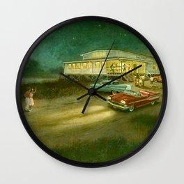 Rock Around The Clock-1950's Wall Clock