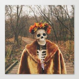 Autumn-Winter Princess Canvas Print