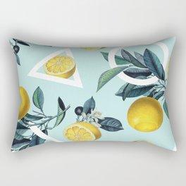 Geometric and Lemon pattern III Rectangular Pillow