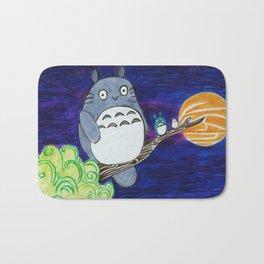 Midnight Totoro Bath Mat