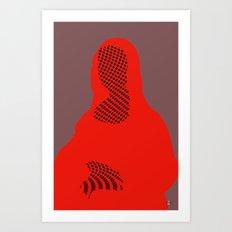 Mona, nu mach aber mal ein Punkt · 1 Art Print
