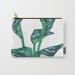 green calla lily Carry-All Pouch