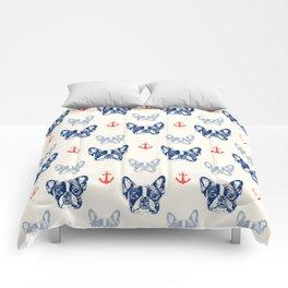 French bulldog pattern Comforters