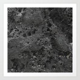 Hawaii Lava Rock Art Print