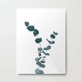 Eucalyptus Leaves Dream #3 #foliage #decor #art #society6 Metal Print