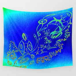 Life in the Ocean Wall Tapestry