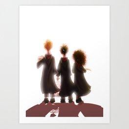 Hogwarts Adventures Art Print