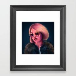 Lily-Rose Framed Art Print