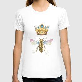 Watercolor Queen Bee, By Heidi Nickerson T-shirt