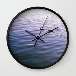 Evening Hymns Wall Clock