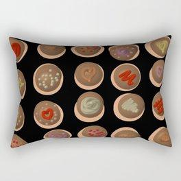 Chocoholic Heaven Rectangular Pillow