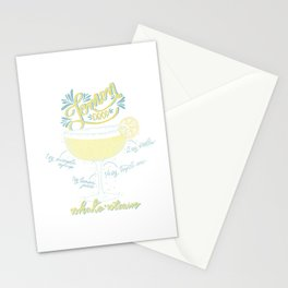 Lemon Drop Stationery Cards