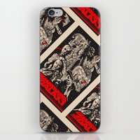 guardians of the galaxy iPhone & iPod Skins featuring Guardians of the Galaxy by Messypandas