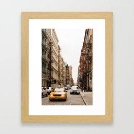 In Soho Framed Art Print