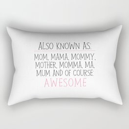 Awesome Mom Rectangular Pillow