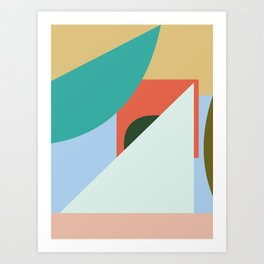 IN AND OUT no.1 Art Print