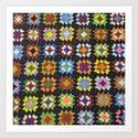 Crochet Granny Squares // Bright by oliveellis