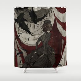 The Night Circus Shower Curtain