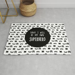 My own superhero Rug