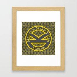Manners Maketh Man [Kingsman] Framed Art Print