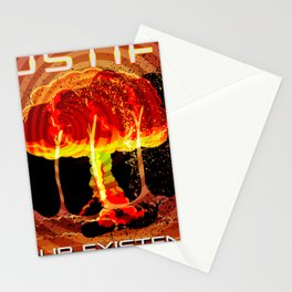 Justify Your Existence Stationery Cards