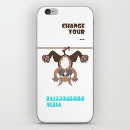 Change your view perspective iPhone Skin