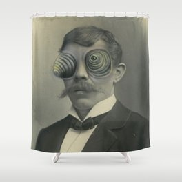 Chameleon Eyes  Shower Curtain