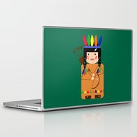 indian Laptop & iPad Skins featuring Indian by lescapricesdefilles