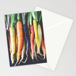 Heirloom Carrots Stationery Cards