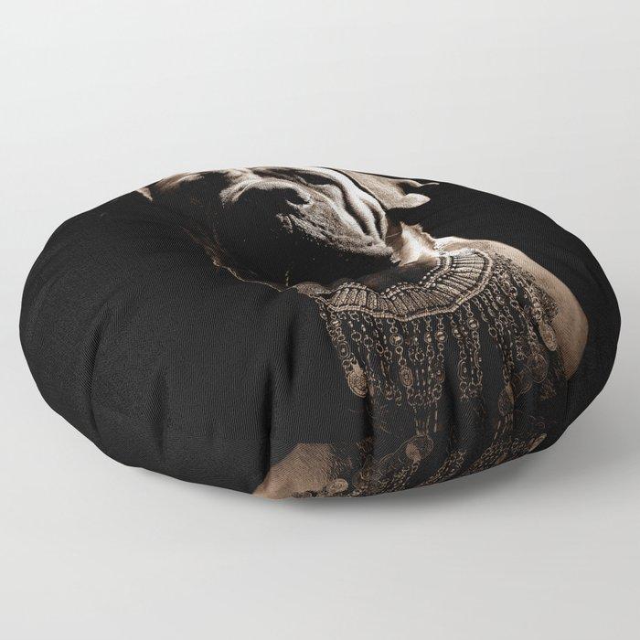 Dramatic Boerboel Floor Pillow