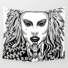 Die Antwood Inspired Illustration Wall Tapestry