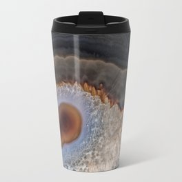 Brown Mocha agate Travel Mug