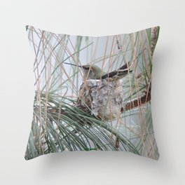 Pine Veil Nesting Throw Pillow