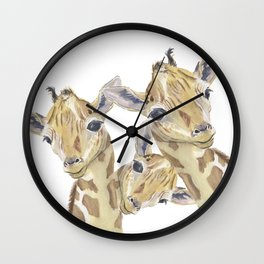 The Trios Wall Clock