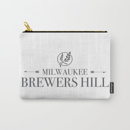 Brewers Hill Wordmark Black Carry-All Pouch