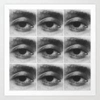 Pontiff's Right Eye Art Print