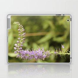 Purple Abstract Flower Vintage Laptop & iPad Skin