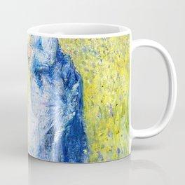 Pierre-Auguste Renoir - Woman Picking Flowers - Digital Remastered Edition Coffee Mug