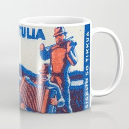 Old Matchbox label #5 Coffee Mug