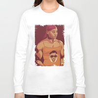 true blood Long Sleeve T-shirts featuring True Blood - Lafayette/Blade by Mike Wrobel