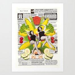 pure corn oil Art Print