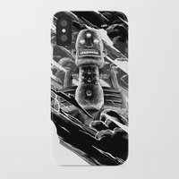 totem iPhone & iPod Cases featuring Totem by A P Schofield fine arts
