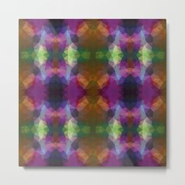 Colorful kaleidoscopic design Metal Print
