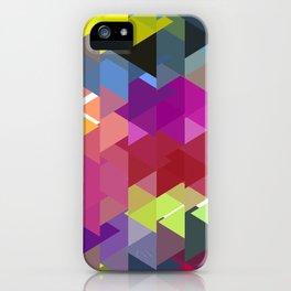 Triangle No. 2 iPhone Case