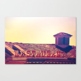 Motel #3 Canvas Print