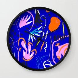 Samba abstract art latin jazz Wall Clock