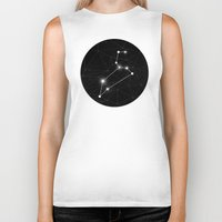 constellation Biker Tanks featuring Constellation by Tom's Whale